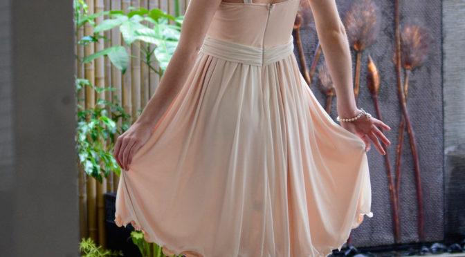 Cream World Dress