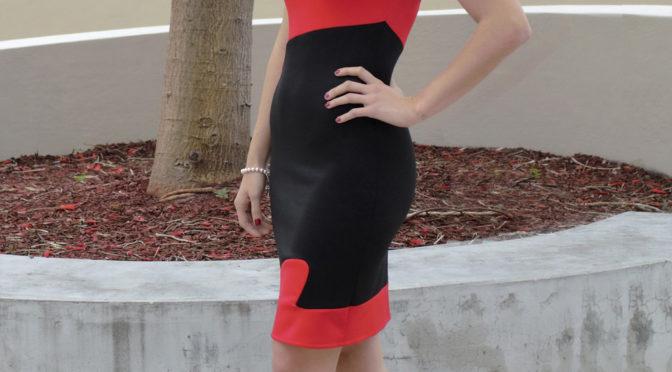 Red Star Dress
